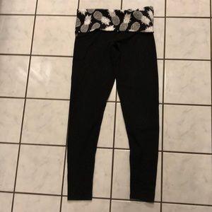Victoria's Secret Pink Pineapple Yoga Pants size S